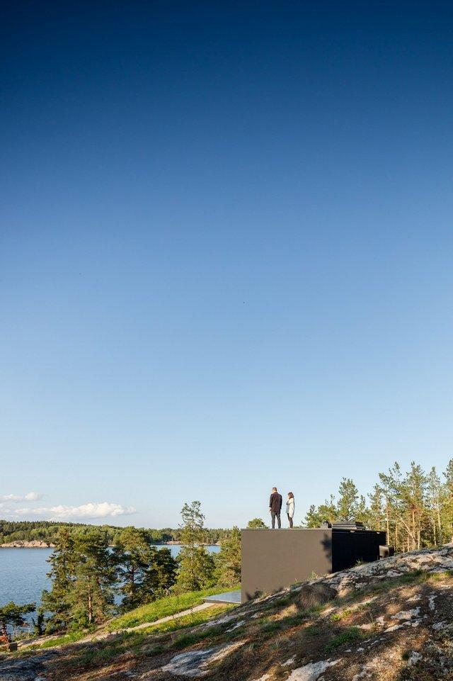 У Швеції біля моря побудували таємну сучасну сауну: фото - фото 385584