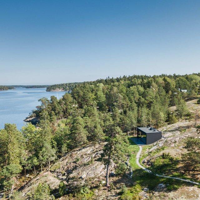 У Швеції біля моря побудували таємну сучасну сауну: фото - фото 385588
