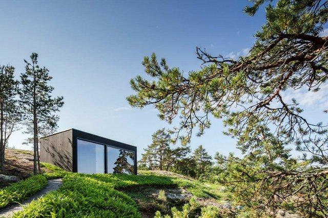 У Швеції біля моря побудували таємну сучасну сауну: фото - фото 385592
