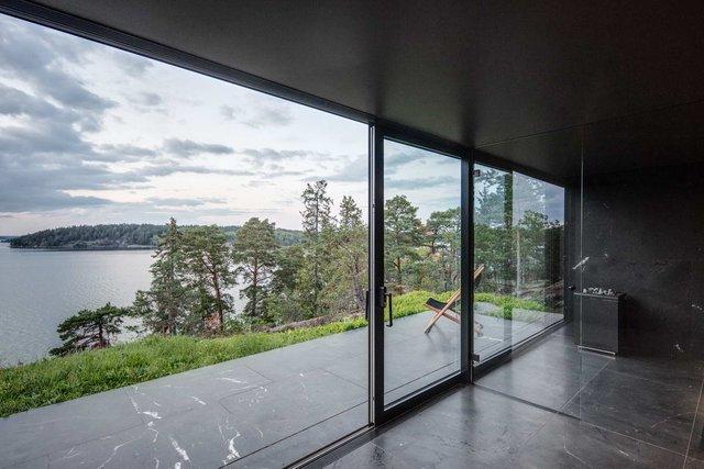 У Швеції біля моря побудували таємну сучасну сауну: фото - фото 385594