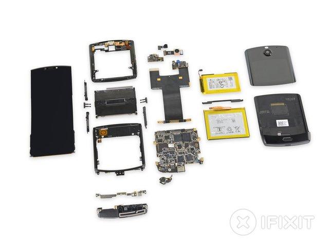В iFixit розібрали новий Motorola RAZR (2019): чи просто ремонтувати смартфон - фото 385892