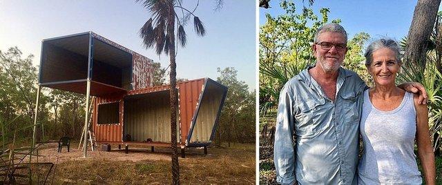 Австралійці зробили дім для мандрівників із контейнерів: ефектні фото - фото 386316
