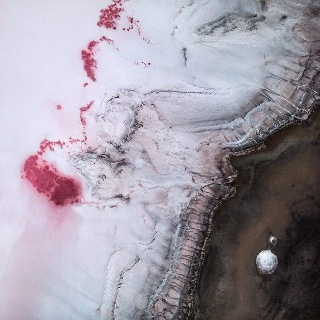 Рожева планета в Україні: дивовижні фото озера на Херсонщині вас вразять - фото 386857