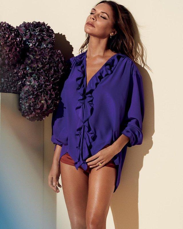 Вікторія Бекхем показала свою сексуальність у новому Vogue: фото - фото 387050