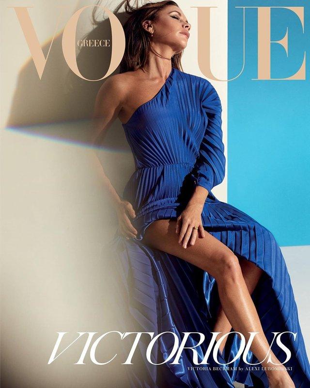 Вікторія Бекхем показала свою сексуальність у новому Vogue: фото - фото 387052
