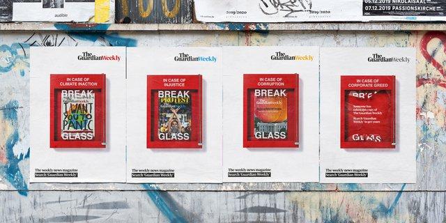 В разі корупції розбийте скло: The Guardian помістила безкоштовні газети в пожежні ящики - фото 387375