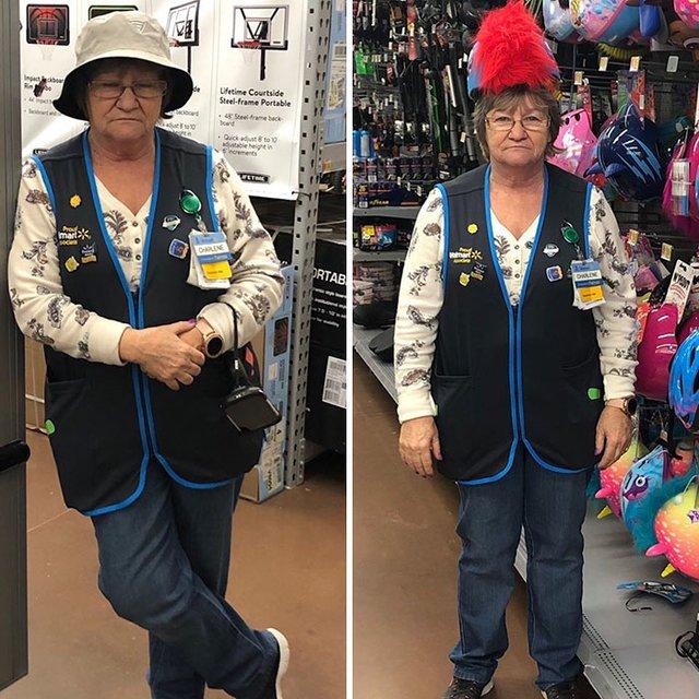Співробітниця Walmart показала, як фотографуватися з товаром, аби його купили - фото 387601