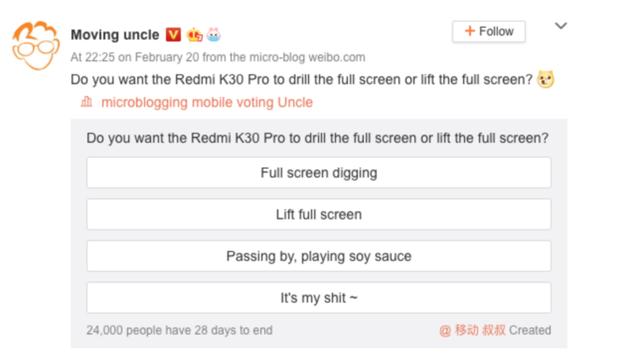 Redmi K30 Pro може отримати висувну селфі-камеру - фото 387702