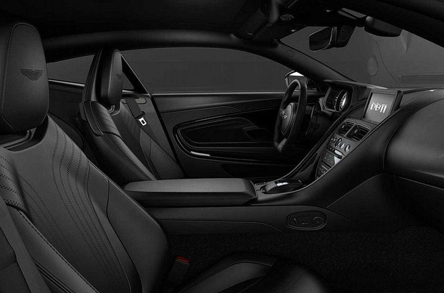300 спартанців: Aston Martin випустить обмежену партію 'дуже чорних' авто - фото 388825