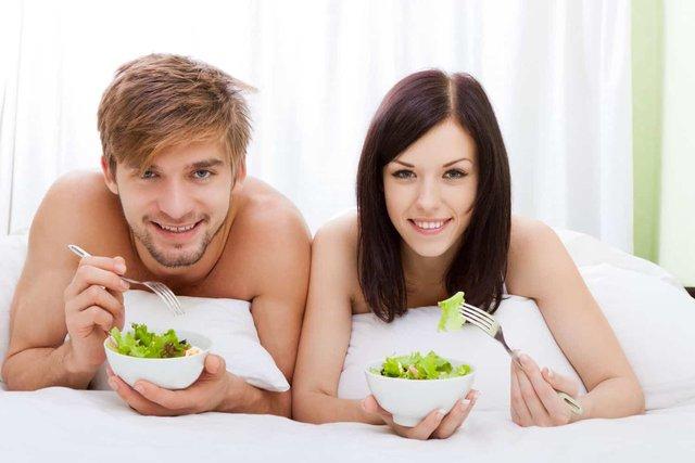 Вегетаріанці перевершили м'ясоїдів у сексі: цікаве дослідження - фото 389261