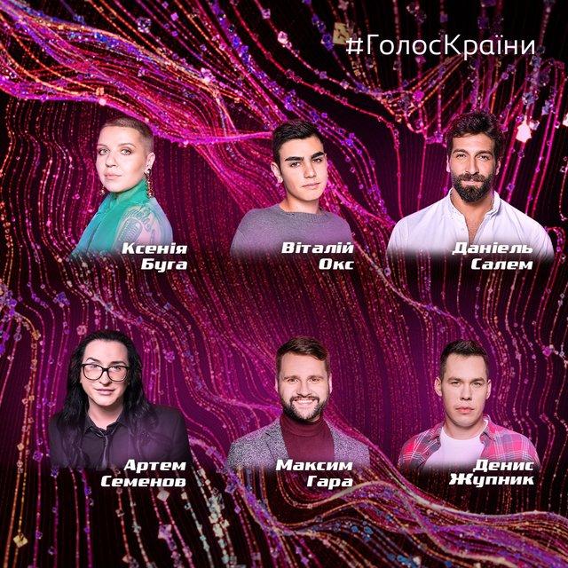 Голос країни 2020: які учасники потрапили в команди 10 сезону - фото 389735