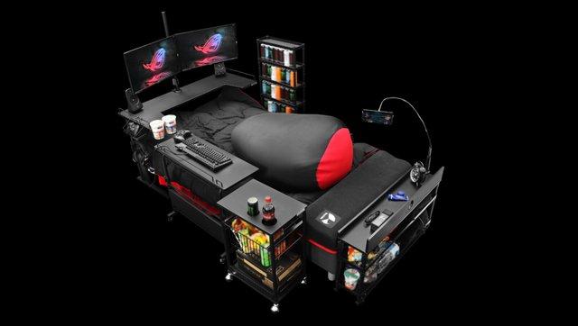 Японці створили ліжко для геймера, про яке мріють всі (фото) - фото 389764
