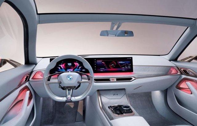Головний конкурент Tesla: як виглядає BMW i4 - фото 389843