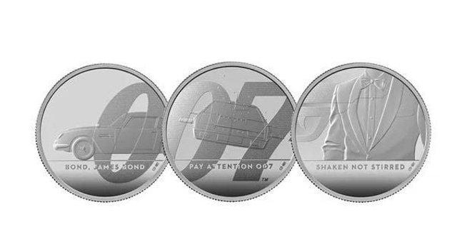 На честь Джеймса Бонда випустили найдорожчу монету - фото 389900