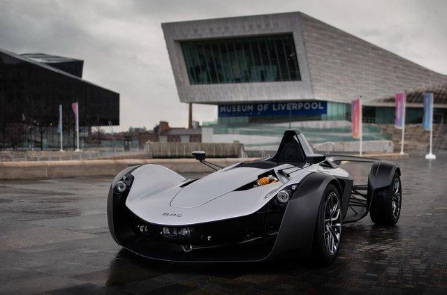 Британці створили крутий суперкар, який важить усього 570 кілограмів - фото 390143