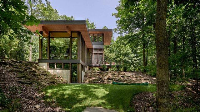 Архітектори створили будиночок в лісі, про який мріють всі - фото 391505