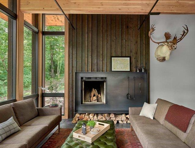 Архітектори створили будиночок в лісі, про який мріють всі - фото 391506