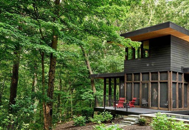 Архітектори створили будиночок в лісі, про який мріють всі - фото 391509