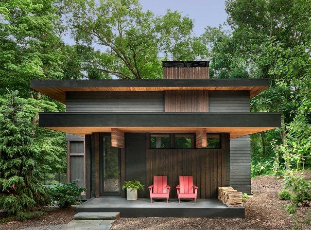 Архітектори створили будиночок в лісі, про який мріють всі - фото 391510
