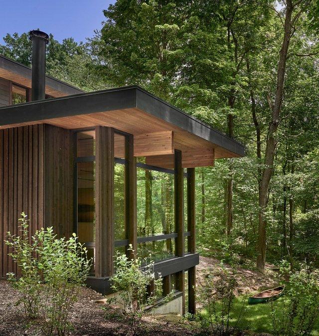 Архітектори створили будиночок в лісі, про який мріють всі - фото 391511