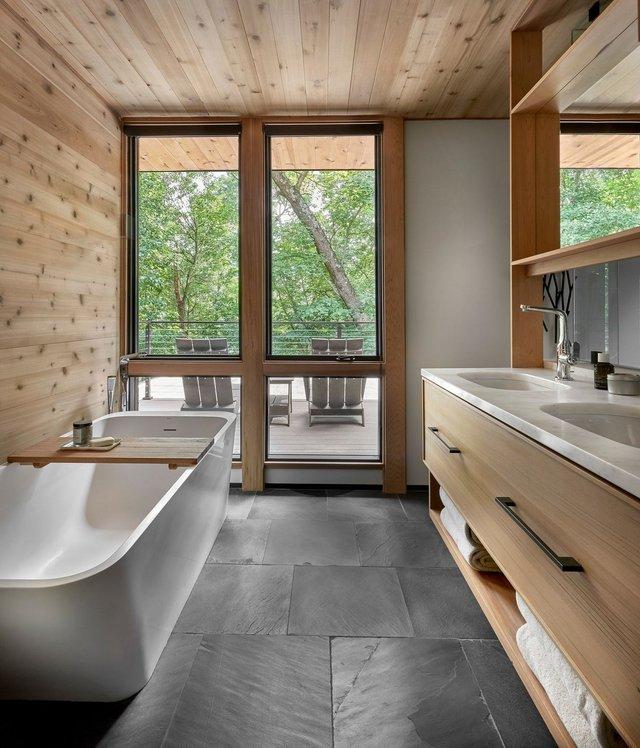 Архітектори створили будиночок в лісі, про який мріють всі - фото 391513