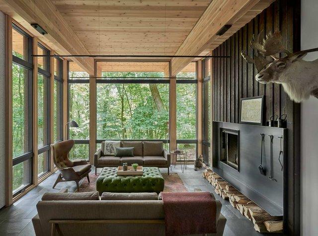Архітектори створили будиночок в лісі, про який мріють всі - фото 391515