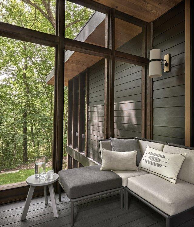 Архітектори створили будиночок в лісі, про який мріють всі - фото 391516