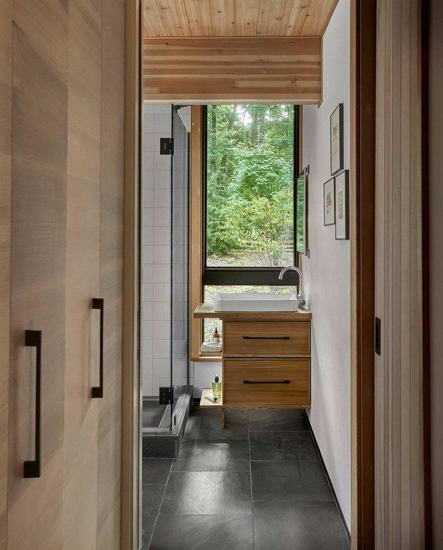 Архітектори створили будиночок в лісі, про який мріють всі - фото 391520