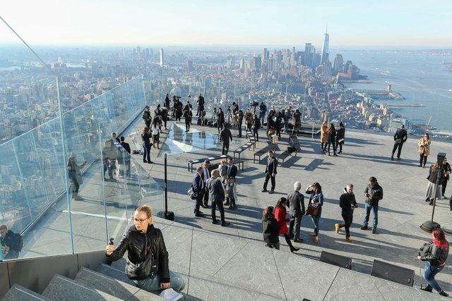 У США відкрили найвищий оглядовий майданчик: приголомшливі фото - фото 391813