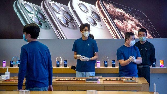 Apple зачиняє магазини в усьому світі - фото 392054