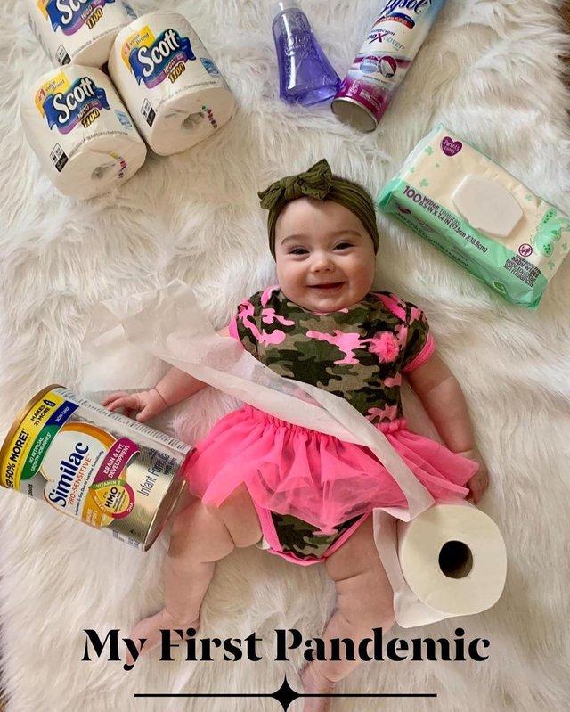 Моя перша пандемія: у мережі запустили флешмоб з дітьми і туалетним папером - фото 393070