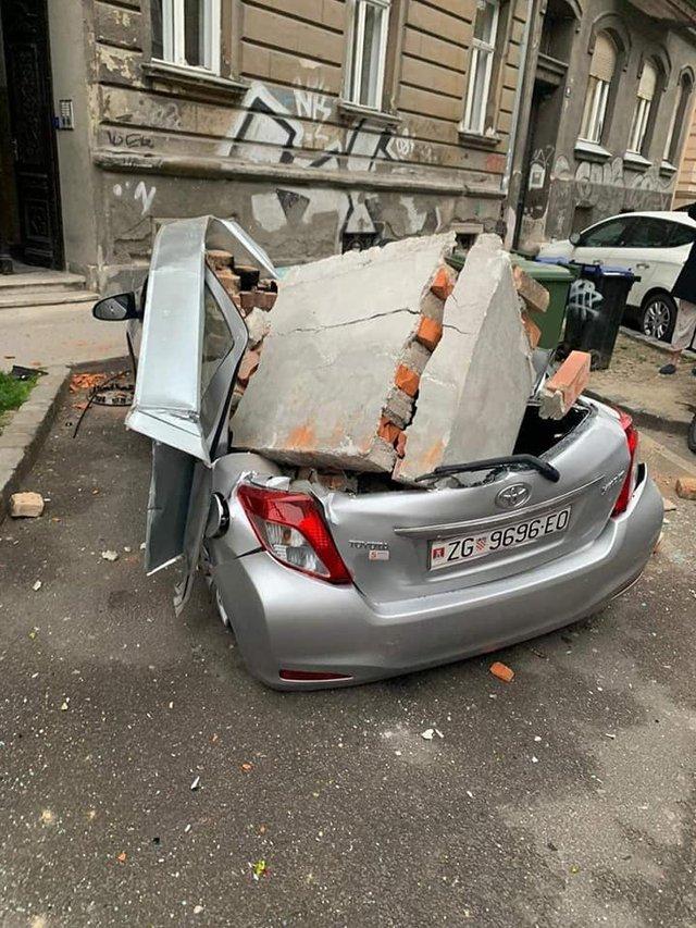 Наслідки землетрусу у столиці Хорватії: моторошні фото - фото 393514
