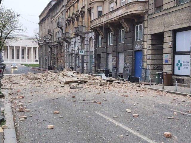 Наслідки землетрусу у столиці Хорватії: моторошні фото - фото 393516