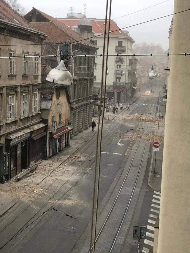 Наслідки землетрусу у столиці Хорватії: моторошні фото - фото 393521