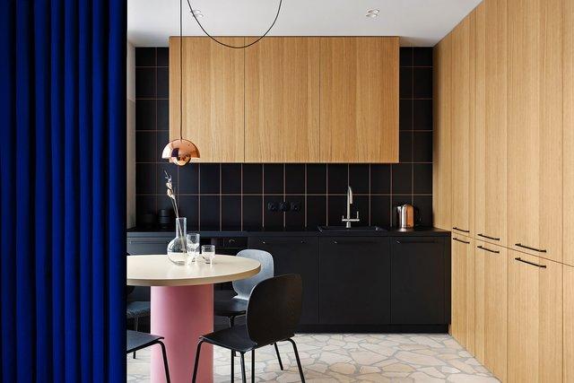 Американський журнал Dezeen розповів про оригінальний дизайн київської квартири - фото 393969