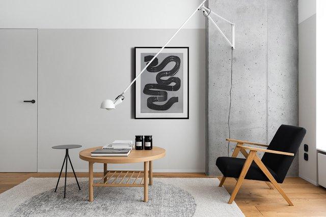 Американський журнал Dezeen розповів про оригінальний дизайн київської квартири - фото 393971