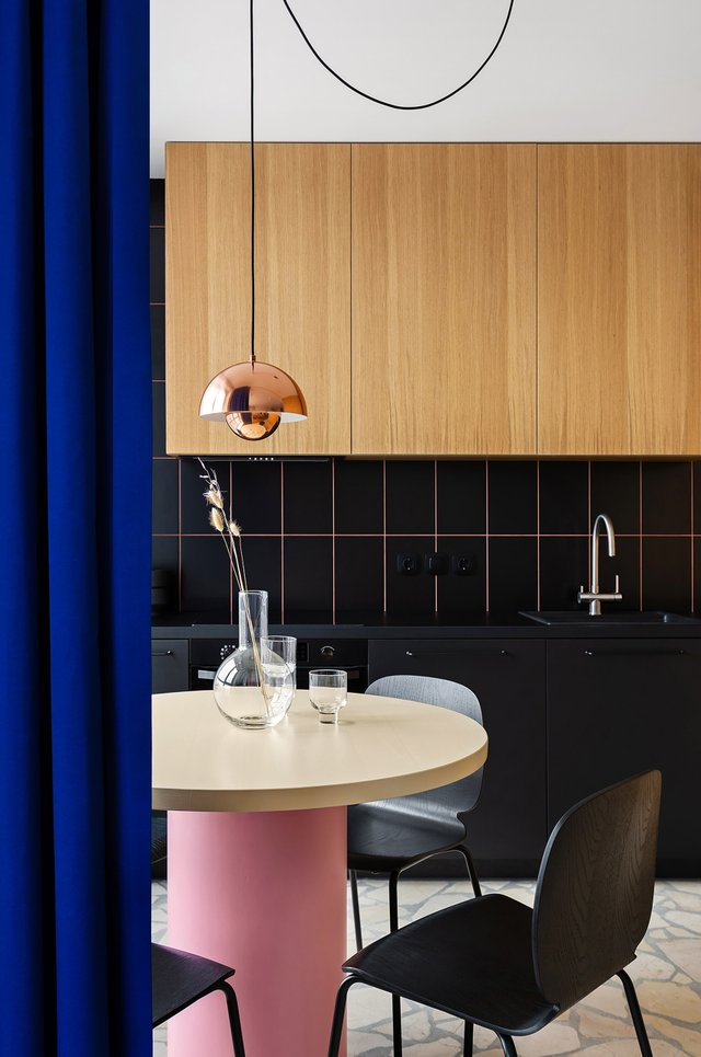 Американський журнал Dezeen розповів про оригінальний дизайн київської квартири - фото 393974