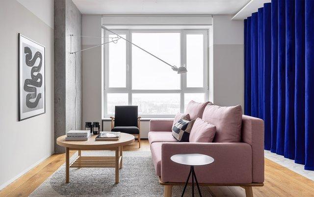 Американський журнал Dezeen розповів про оригінальний дизайн київської квартири - фото 393975