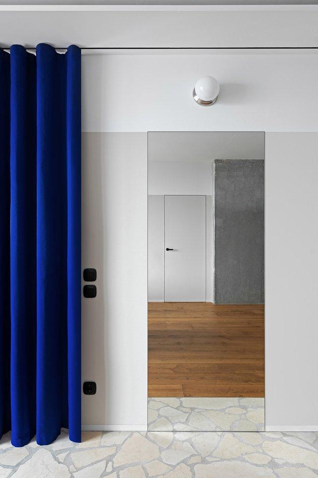 Американський журнал Dezeen розповів про оригінальний дизайн київської квартири - фото 393976