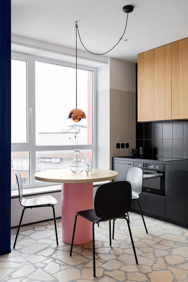 Американський журнал Dezeen розповів про оригінальний дизайн київської квартири - фото 393977