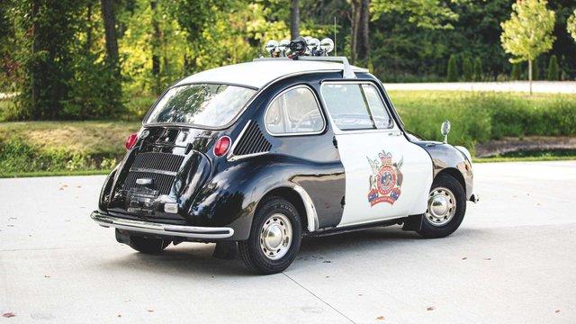 Найнезвичніше авто Subaru у поліцейській лівреї пустять з молотка - фото 394084