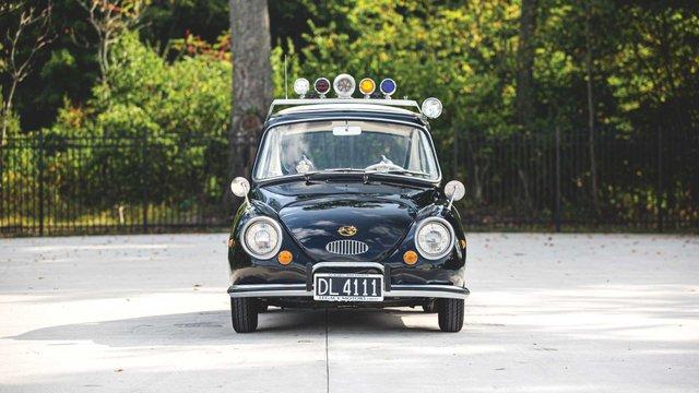 Найнезвичніше авто Subaru у поліцейській лівреї пустять з молотка - фото 394086