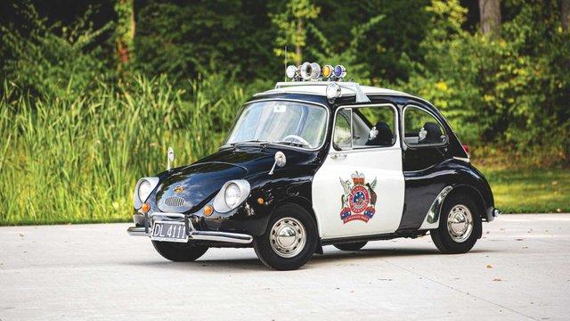 Найнезвичніше авто Subaru у поліцейській лівреї пустять з молотка - фото 394087