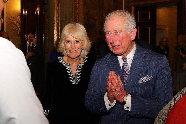 Принц Чарльз з дружиною, 9 березня 2020 року - фото 394100