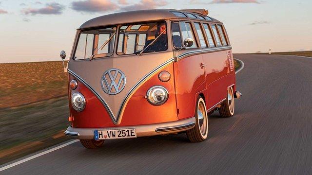 Volkswagen перетворила культовий мікроавтобус 60-х на електрокар - фото 394151