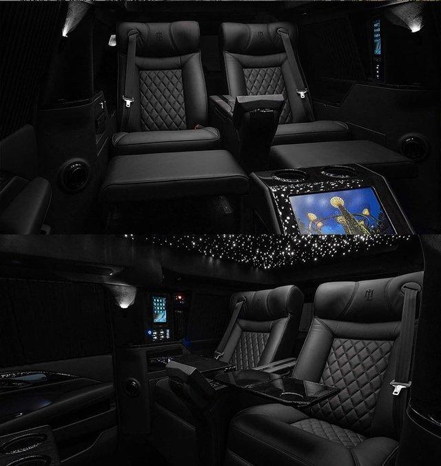 Новий Cadillac Escalade перетворять на мобільний офіс - фото 394179