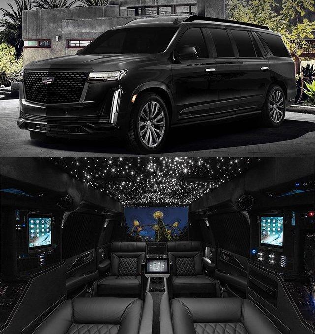 Новий Cadillac Escalade перетворять на мобільний офіс - фото 394180