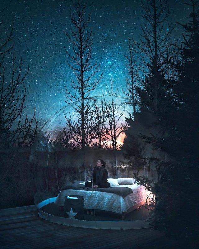 Фінляндець робить вражаючі фото, які нагадують казку - фото 394659