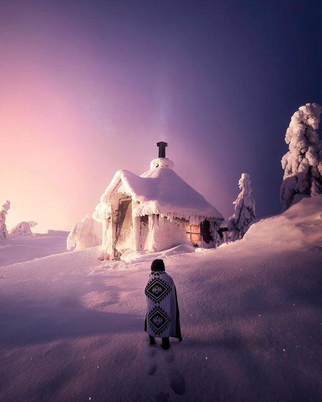 Фінляндець робить вражаючі фото, які нагадують казку - фото 394652