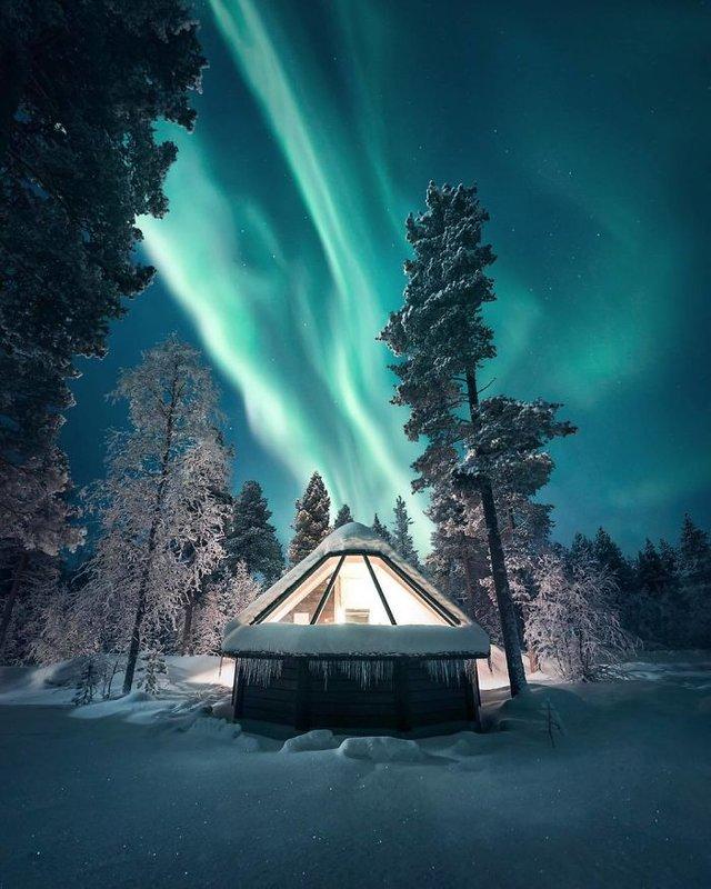 Фінляндець робить вражаючі фото, які нагадують казку - фото 394654